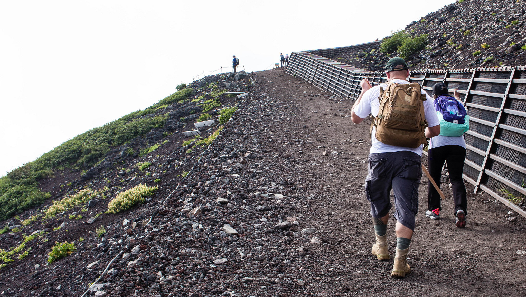 Two Miles to the Top: USARJ, JGSDF conquer Mt. Fuji